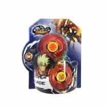 Lançador e Pião de Batalha - Infinity Nado - Plastic Series - Blade - Candide -