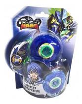 Lançador e Pião de Batalha Infinity Nado Plastic Super Whisker Candide -