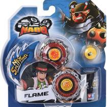 Lançador e Pião de Batalha Infinity Nado Standard Series Flame - Candide -