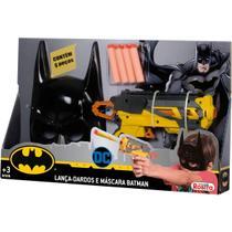 Lancador Lanca Dardos C/ Mascara Batman Baby Brink Unidade -