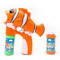 Lançador Mania De Bolhas De Sabão Peixe Toys - Gama