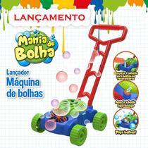 Lançador Maquina Carrinho Mania de Bolha Bolhas de Sabão DM Toys DMT5624 -