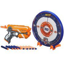 Lançador NERF N-Striker Elite com Alvo - Precision Target Set - Hasbro -