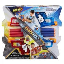 Lancador Nerf Sonic Fire e Ice Jolt Pack 4, Hasbro A7957