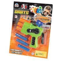 Lancador X Darts Plt 1 C/3 Dardos Braskit Unidade -