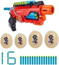 Lançador X-Shot Dino Attack - Dino Striker - Candide -