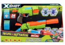 Lançadores de Dardo Bug Attack Value Pack 24 Dardos - Candide 5504 -