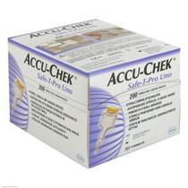 Lanceta Accu Chek Safe-T Pro Uno 200 Unidades - ROCHE