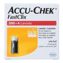 Lancetas Fastclix c/ 204 Unidades Original - Roche