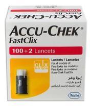 Lancetas FastClix Caixa c/102 - Roche