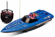 Lancha Controle Remoto Aqua Thunder DTC 46 cm -