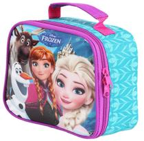 Lancheira Escolar Infantil Menina Resistente Frozen Dermiwil -