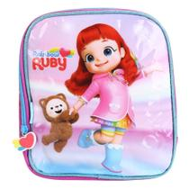 Lancheira Escolar Infantil Pacific Estampa Rainbow Ruby Feminina -