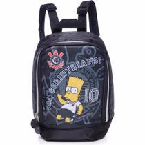 Lancheira Escolar Térmica Simpsons Corinthians Bart Pacific -
