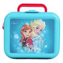 Lancheira Infantil Plastico Injetado Frozen Elsa e Ana Dmw -