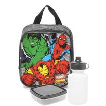 Lancheira Infantil Termica Marvel Comics Heroes 7554 Xeryus -