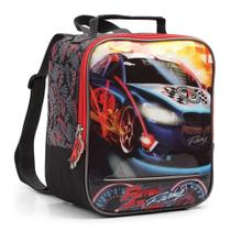Lancheira Térmica Infantil Menino Racing Carro - Seanite