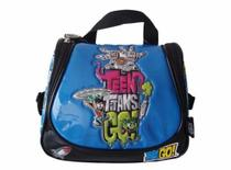 Lancheira Térmica Teen Titans Azul Infantil Com Squeeze - Santino