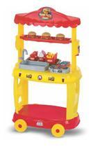 Lanchonete Food Truck Burguer Hamburgueria 8080 - Magic Toys -