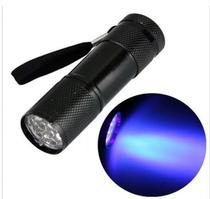 Lanterna 9 Led Uv Luz Ultra Violeta Seca Unha Gel Esmalte Ge - Lullu person
