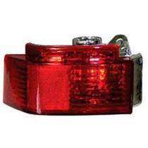 Lanterna Auxaliar Traseira Vermelha S furo P luz Neblina Plastico Palio siena doblo meriva - Gnr