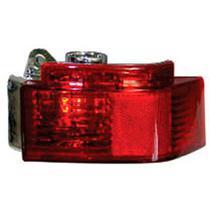 Lanterna Auxiliar Traseira Vermelha C furo P luz De Neblina Acrilico Meriva 2002 2007 Nk-410731 - GNR