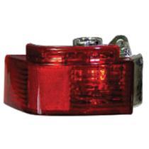 Lanterna Auxiliar Vermelha S furo P luz De Neblina Plastico 2002 2007 Meriva palio doblo siena - Gnr