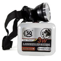 Lanterna Cabeça LED Super Potente Recarregável SQ-3810 -