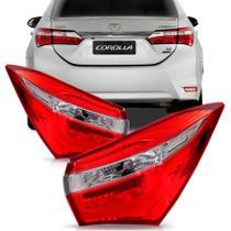Lanterna Corolla Canto 2015 2016 Com Led - Sp acessórios