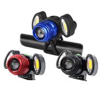 Lanterna de Bicicleta Recarregável Led USB Forte Dianteira T6 Zoom Sinalizador Ciclista Ciclismo - Infinity-Imports