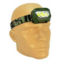 Lanterna de Cabeça 3 LEDs a Pilhas Camuflada CBRN11629 - Commerce Brasil