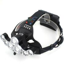 Lanterna de Cabeça 7 Led XM-L T6 4 Modos 35000LM GT599 - Lorben -