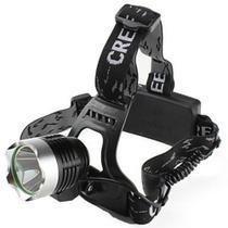 Lanterna De Cabeça T6 Led Cree Tatica Profissional Com Zoom Carregador Veicular - B Max