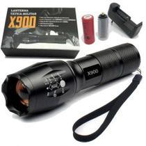 Lanterna De Led Tática Militar X900 -