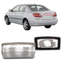 Lanterna de Placa Corolla Fielder 2003 2004 2005 2006 2007 2008 Sem Soquete Esquerdo - Dsc