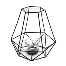 Lanterna Decorativa Metal Mandy Preto - Evolux