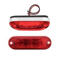 Lanterna Delimitadora / Placa  LED CR Ônibus Caminhão Carreta 12 volts - Silo