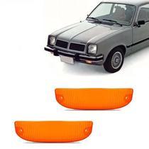 Lanterna Dianteira Pisca Chevrolet Chevette Marajó Chevy até 1982 Ambar Lado Esquerdo Direito - Indcar