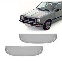 Lanterna Dianteira Pisca Chevrolet Chevette Marajó Chevy até 1982 Cristal Lado Esquerdo Direito - Indcar