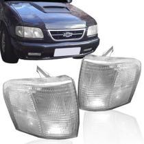 Lanterna Dianteira Pisca Chevrolet S10 Blazer Cristal Lado Esquerdo - Hawk