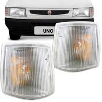 Lanterna Dianteira Pisca Fiat Uno Prêmio Fiorino 1991 a 2002 Cristal Lado Direito 90810 - Ht componentes