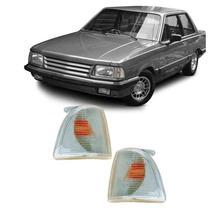 Lanterna Dianteira Pisca Ford Corcel Belina II Del Rey Scala Pampa 1985 em Diante Cristal Lado Esquerdo - Cibie