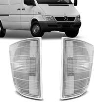 Lanterna Dianteira Pisca Sprinter 1995 1996 1997 1998 1999 2000 2001 2002 Cristal - Imola