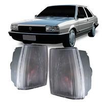 Lanterna Dianteira Pisca Volkswagen Santana CS CG CD GL 1986 em Diante Cristal Lado Direito -