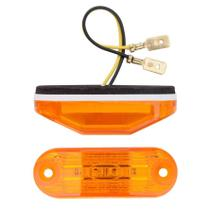 Lanterna Direcional  Pisca Seta Teto LED AM 12V  Ônibus Busscar / Induscar / Mascarello / Caminhão / Van - Silo