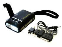 Lanterna Dynamo Micro e Carregador de Celular - Wagan