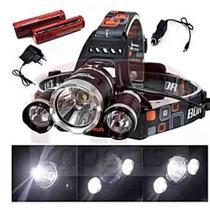 Lanterna / Farol De Cabeça Bike 3 Led Cree T6 Recarregável - Importador