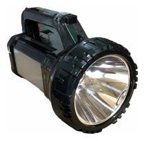 Lanterna Holofote de mão LED com alça Recarregavel - DP LED
