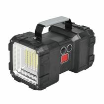 Lanterna holofote multifunção Monster NTK com potência de 1500 lúmens, recarregável via USB e 2 tipos de foco -