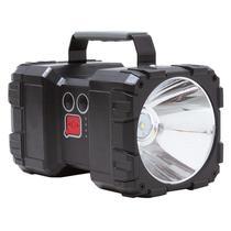 Lanterna Holofote Nautika Monster 1500 Lumens Recarregável via USB 2 Focos -